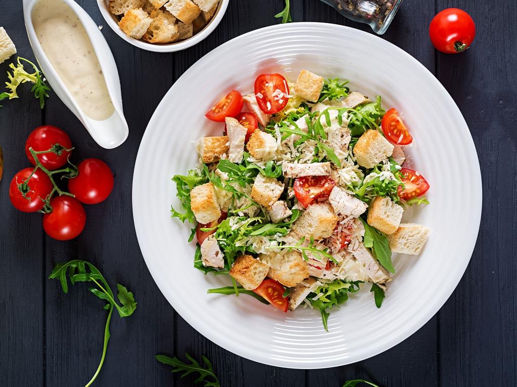 Salade cesar - Satyn's Toulon Le Mourillon